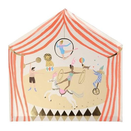 Meri Meri Circus Parade Plates