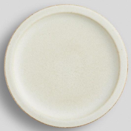 Pottery Barn Mendocino Dinner Plate Ivory