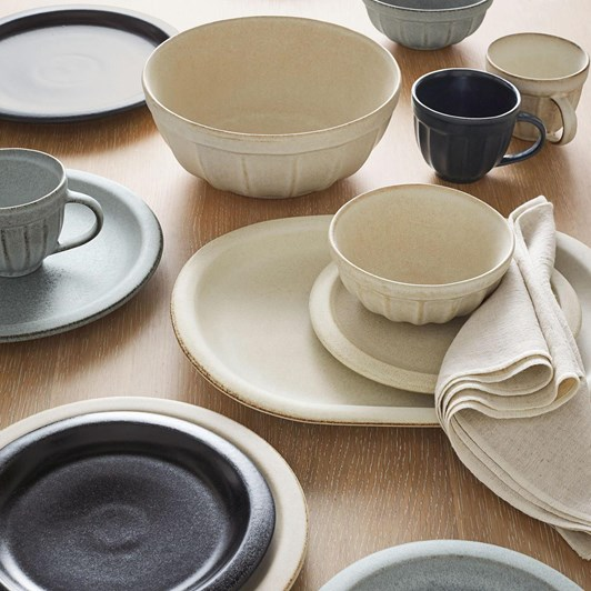 Pottery Barn Mendocino Individual Bowl Ivory
