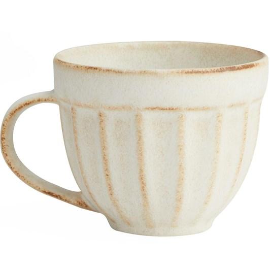 Pottery Barn Mendocino Mug Ivory