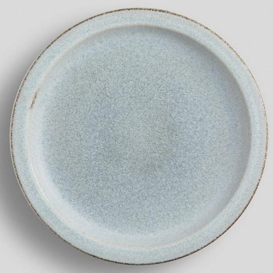 Pottery Barn Mendocino Dinner Plate Mineral Blue