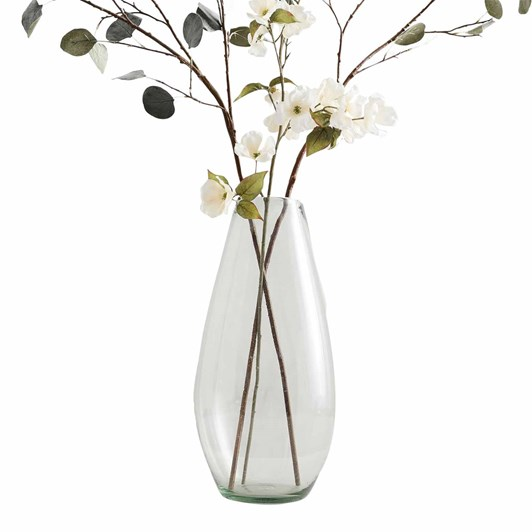 Pottery Barn Recycled Glass Vase Collection Clear Tall