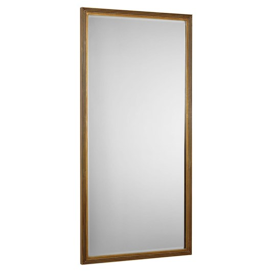 Pottery Barn Calvet Mirror Gold 36x71 Inches