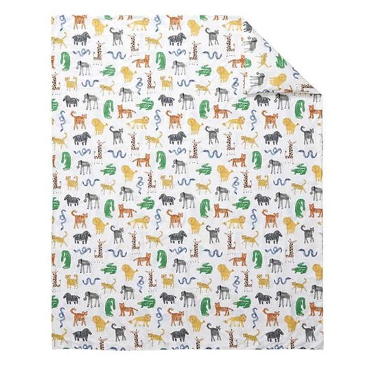 Pottery Barn Kids Silly Safari Quilt