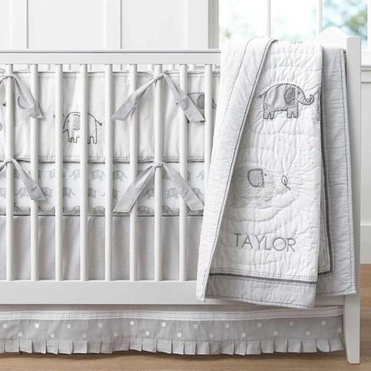 Pottery Barn Kids Taylor Crib Skirt