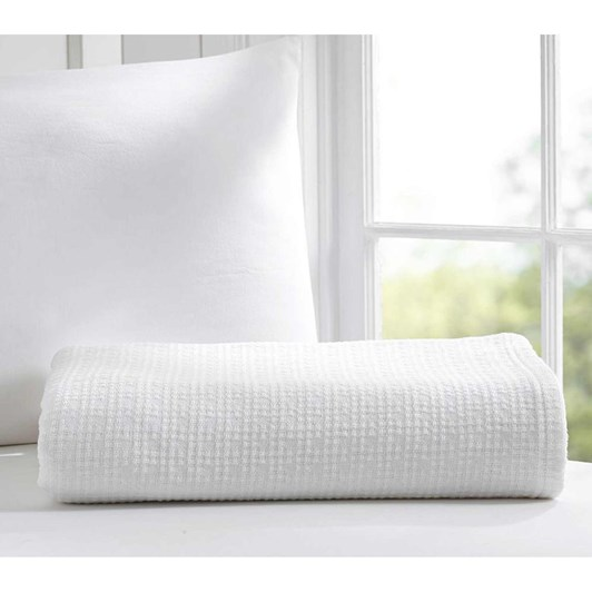 Pottery Barn Kids Organic Cotton Woven Bed Blanket