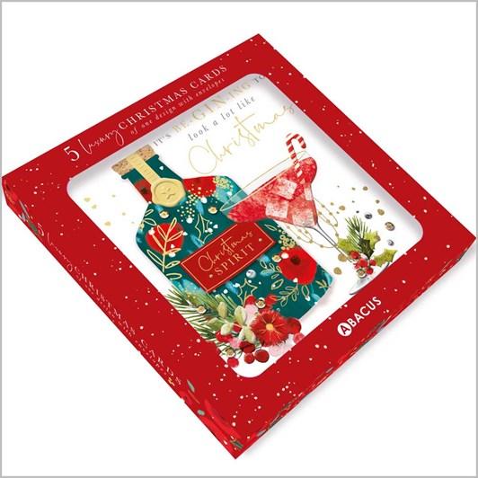 Image Gallery Xmas Boxed Cards 5 Lux Azalea Xmas