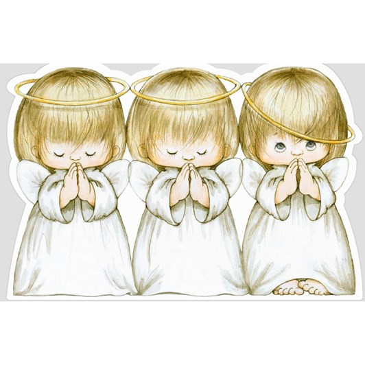 Image Gallery Xmas Boxed Cards 10 Three Angels