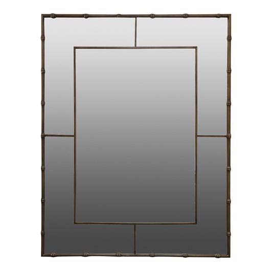 Madras Link Bamboo Brass Mirror 96x125x2.5cm