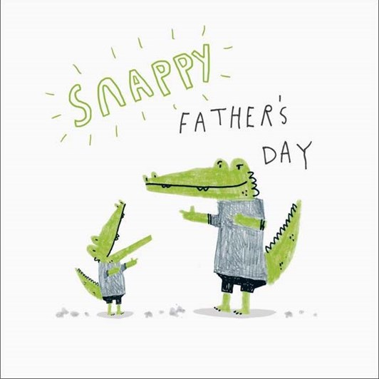 Snappy Father's Day Card