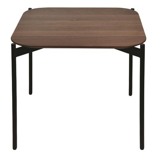 Madras Link Benalla Walnut Side Table 50x50x45cm