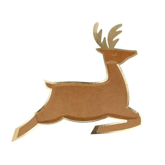 Meri Meri Leaping Reindeer Plates