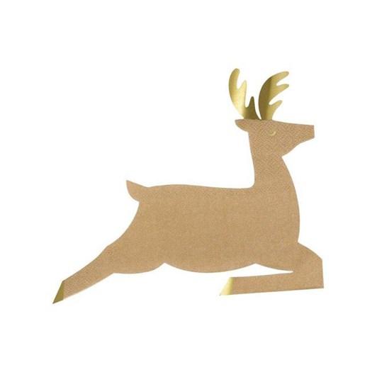 Meri Meri Leaping Reindeer Napkins