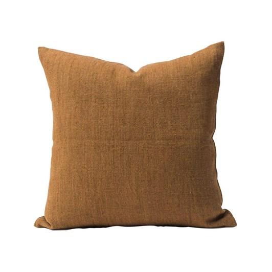Citta Heavy Linen Jute Cushion Cover Masala  55X55Cm