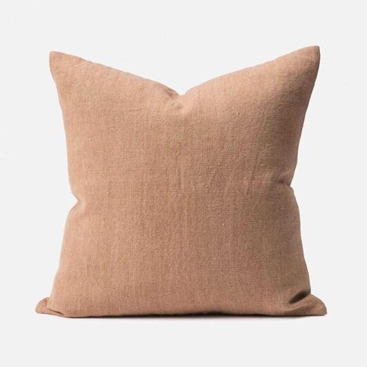 Citta Heavy Linen Jute Cushion Cover Quinoa  55X55Cm