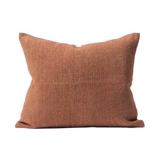 Citta Heavy Linen Jute Cushion Cover Rose  55X45Cm