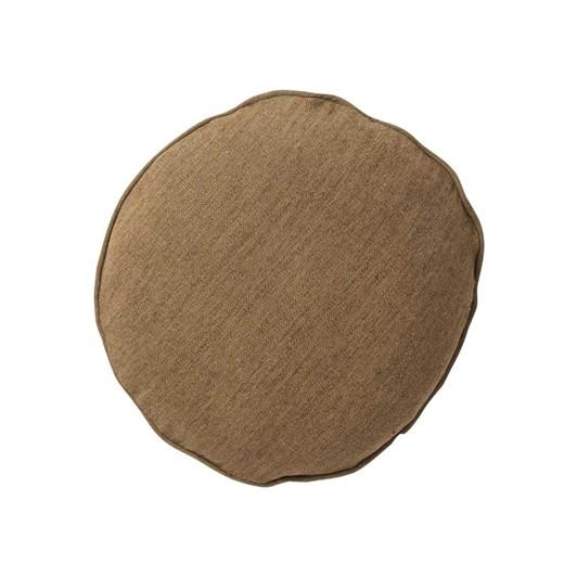 Citta Heavy Linen Jute Round Cushion Cover Matcha  45Cmdia