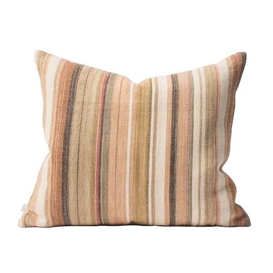 Citta Nina Cotton Jute Cushion Cover Multi  55X45Cm