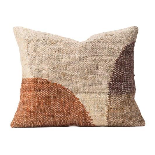 Citta Piha Woven Cushion Cover Tobacco/Multi  50X50Cm
