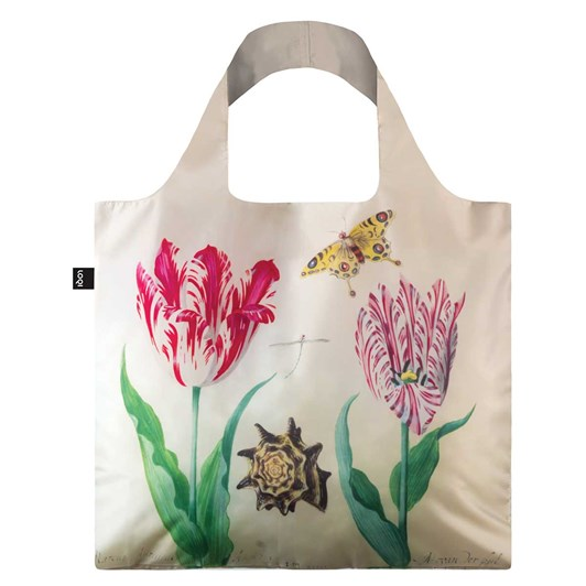 Loqi Shopping Bag Museum Collection - Two Tulips