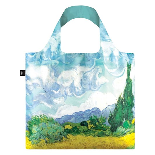 Loqi Shopping Bag Museum Collection - Wheat Field Edition 2