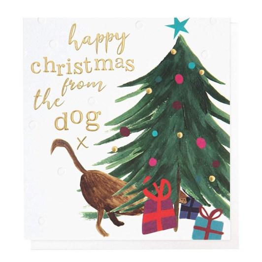 Caroline Gardner Happy Christmas From The Dog Card