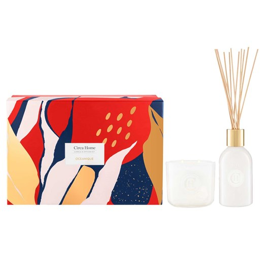Circa Home Oceanique Candle And Diffuser Gift Set