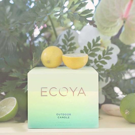 Ecoya Outdoor Candle Citronella & Lemongrass  - 400gm