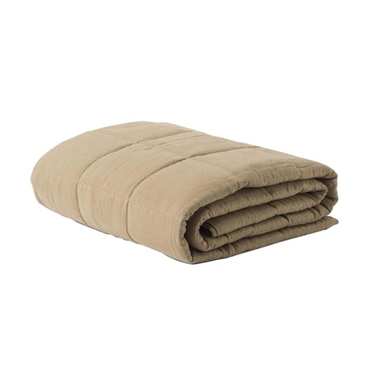 Citta Linen Quilted Blanket Pickle L 200x220cm