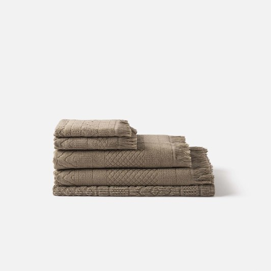 Citta Jacquard Bath Towel Matcha 70x140cm