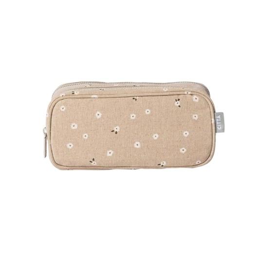 Citta Billie Cosmetic Case Latte/Multi S 22x7x11cmh