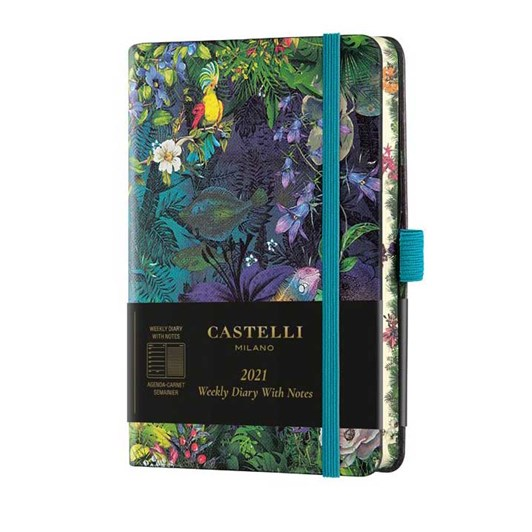 Castelli Eden 2021 Pocket Diary Week To View Lily