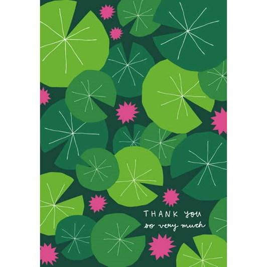 Vevoke Card Lilypad Thank You