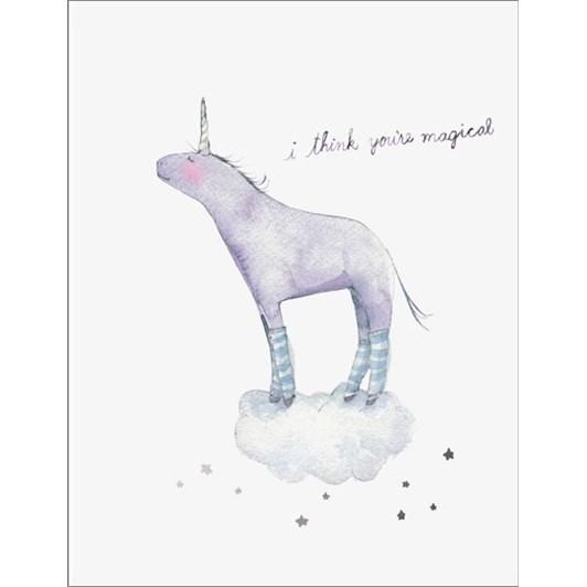 Vevoke Foil Card I Think Your Magical
