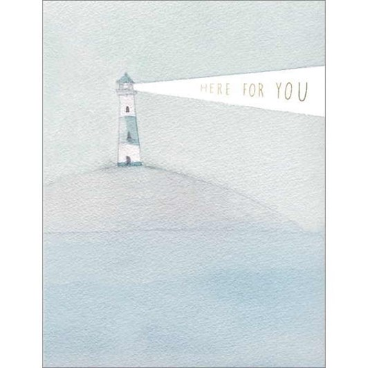 Lighthouse Beacon Foil Card