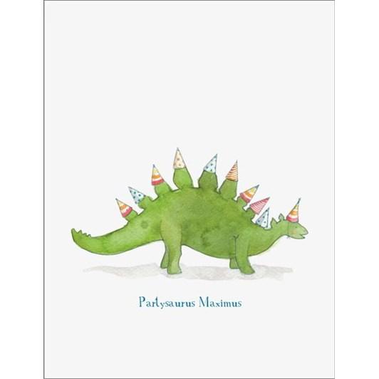 Partysaurus Card