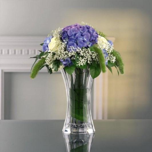 Nachtmann Saphir Vase 18cm
