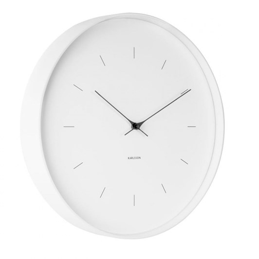 Karlsson Large Wall Clock Butterfly Hands White