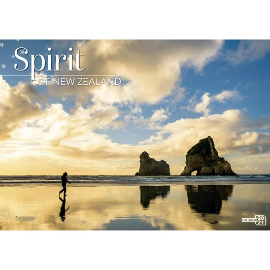 Spirit Of New Zealand Calendar 2021 318X215Mm