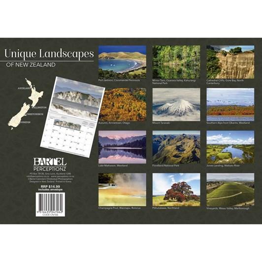 Landscapes Of New Zealand Calendar 2021 340X242Mm