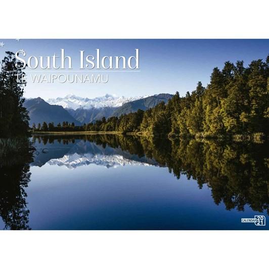 South Island Calendar 2021 340X242Mm