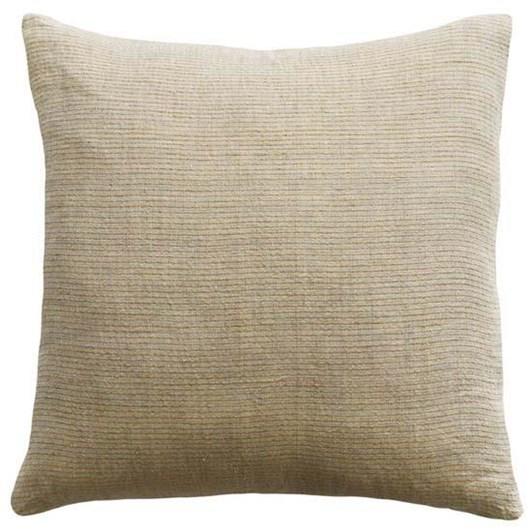 Mulberi Sandridge Cushion With Feather Inner Linen/Ochre 50x50cm