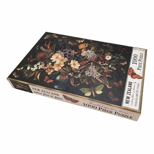 Native Flora & Fauna 1000 pc Puzzle