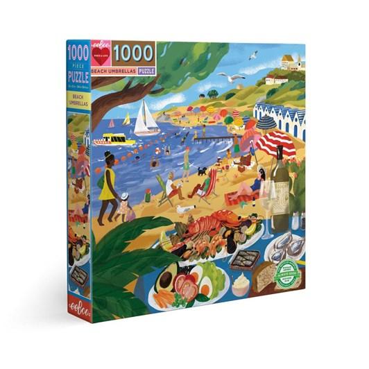 Eeboo Beach Umbrellas 1000  Pce Puzzle