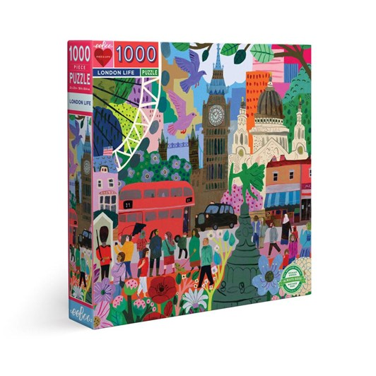 Eeboo London Life 1000  Pce Puzzle