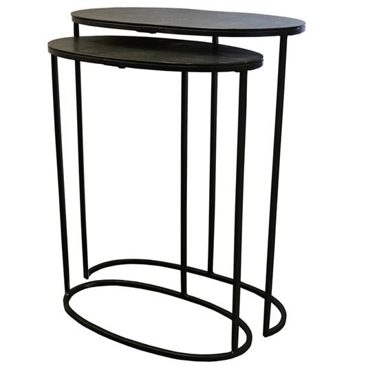 Soca Nest Of 2 Tables Black