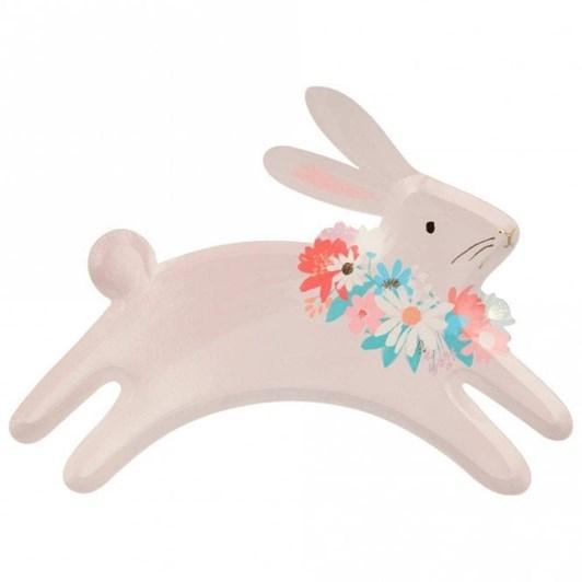Meri Meri Leaping Bunny Plates