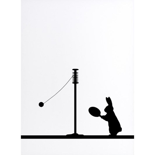 Ham Swingball Rabbit Print