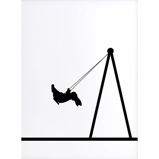 Ham Swing Rabbit Screen Print
