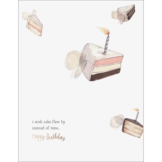 Vevoke Foil Card Flying Cake